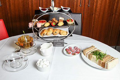 Afternoon Tea for Two at the Ambassadors Bloomsbury Hotel