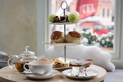 Afternoon Tea at The Sloane Square Hotel for Two