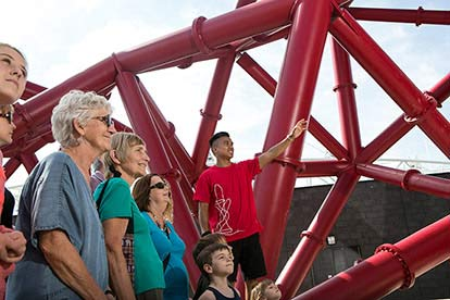 The Slide at The ArcelorMittal Orbit for Two Adults