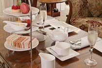 Afternoon Tea with Bubbly for Two at The Sudbury House Hotel