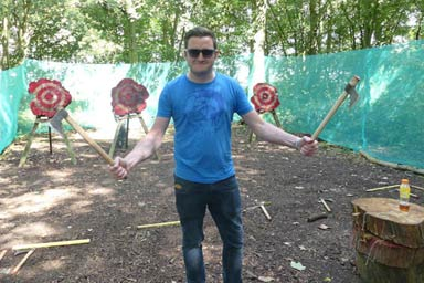 Axe Throwing for Two