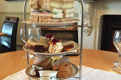 Afternoon Tea for Two at the Toft Country Hall Hotel