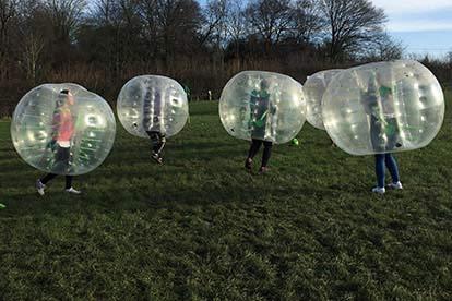 Bubble Football for Six