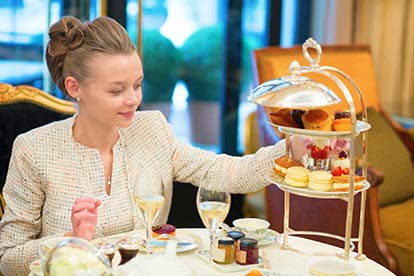 Champagne Afternoon Tea for Two at the Marquis at Alkham for Two
