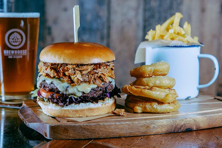 Beer Master Class and Burger Meal for Two