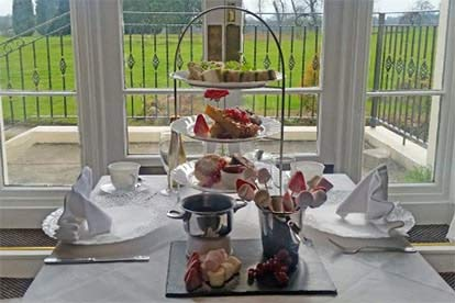 Champagne Afternoon Tea for Two at The Haughton Hall Hotel