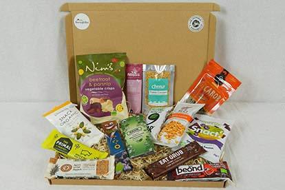 3 Month BoroughBox Organic Snack Box Subscription