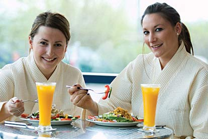 Bannatyne Relaxing Spa Day for Two with Lunch