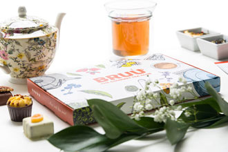 Three Month Gourmet Tea Subscription from BRUU