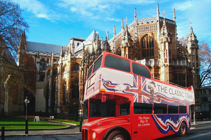 The Classic Bus Tour for 2 Adults