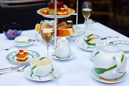 Champagne Afternoon Tea at The Sloane Square Hotel for Two
