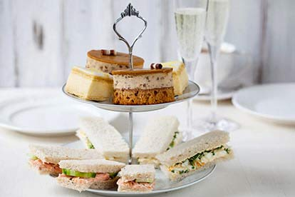 Champagne Afternoon Tea for Two at The Telford Hall Hotel