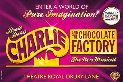 Top Price Tickets to Charlie and the Chocolate Factory and a Meal for Two