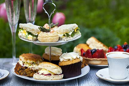 Champagne Afternoon Tea for Two at Chiseldon House Hotel
