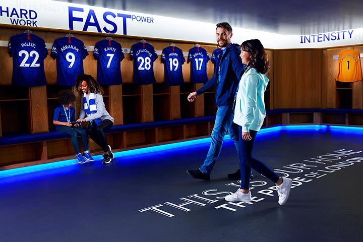 Family Tour Of Chelsea Stadium