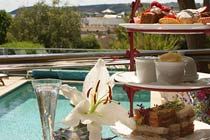 Champagne Afternoon Tea for Two at Hotel Penzance
