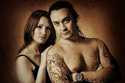 Luxury Couples Portrait with Paul Johnson Photography