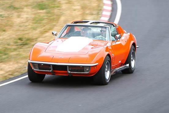 Corvette Stingray Race Car Blast