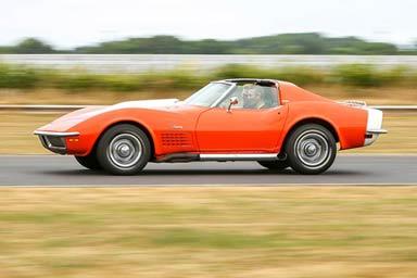 Corvette Stingray Race Car Blast Thumb