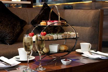 Champagne Afternoon Tea for Two at the Hilton London Victoria Hotel
