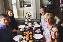 Afternoon Tea for Two at Colwick Hall Hotel