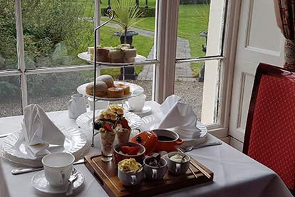 Deluxe Afternoon Tea for Two at The Haughton Hall Hotel