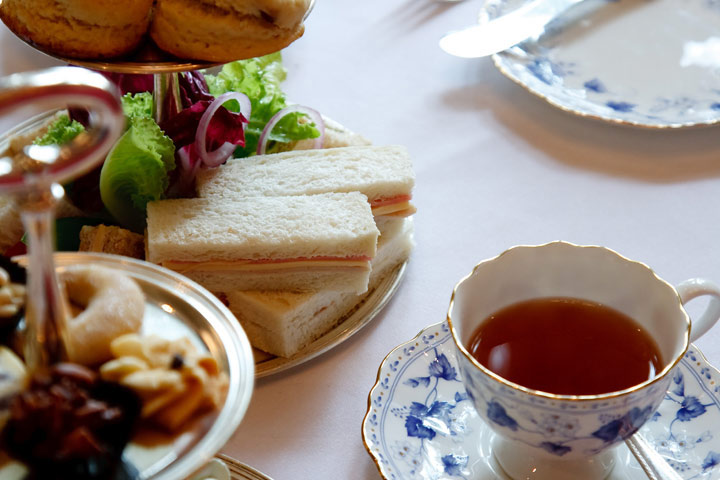 Deluxe Afternoon Tea for Two at The Charingworth Manor Hotel