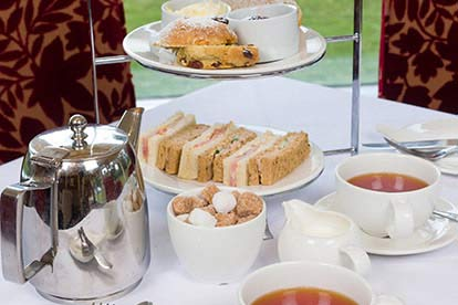 Deluxe Afternoon Tea for Two at The Grinkle Park Hotel