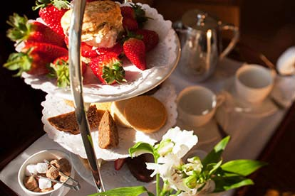 Deluxe Afternoon Tea for Two at The White Swan Hotel