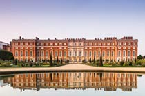 Entrance to Hampton Court Palace and Gardens