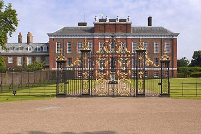 Entrance to Kensington Palace