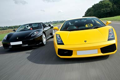 Click to view details and reviews for Ferrari Lamborghini Thrill With Passenger Ride Photo.
