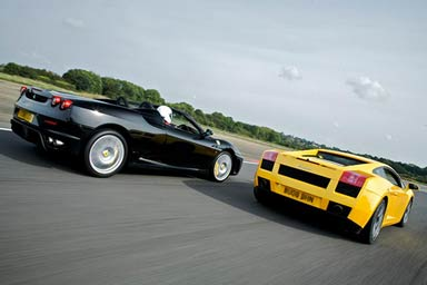 Ferrari & Lamborghini Thrill with Passenger Ride & Photo Thumb