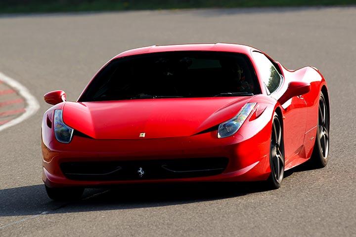 Ferrari & Lamborghini Thrill with Passenger Ride & Photo