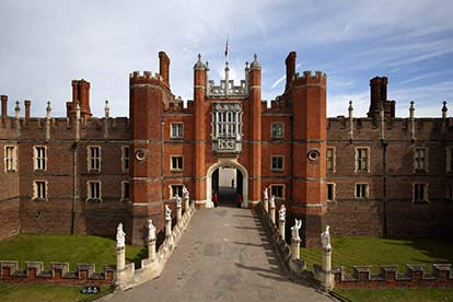 Entrance to Hampton Court Palace and Gardens for Two