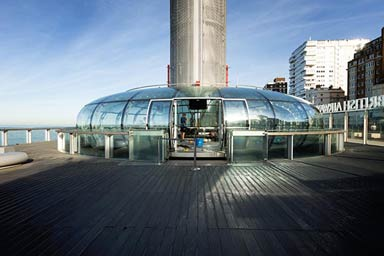 A Visit to The British Airways i360 and Borde Hill Garden for Two Thumb