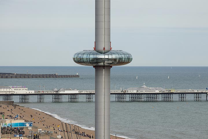 A Visit to The British Airways i360 and Borde Hill Garden for Two