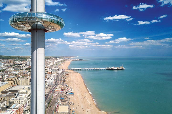 image of A Visit to The British Airways i360 and a Three Course Meal at Café Rouge