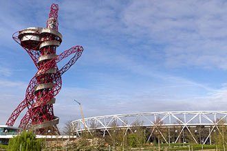 Visit to the ArcelorMittal Orbit and Afternoon Tea for Two