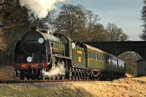 Steam Train Journey and a Visit to Wakehurst Place for Two