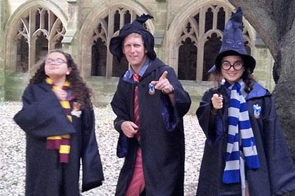 image of Harry Potter in Oxford Walking Tour for a Family of Four