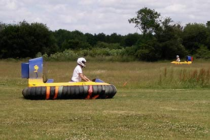 Hovercraft Driving Experience for Two