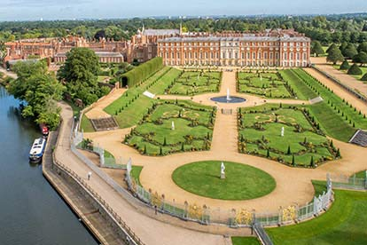 Entrance to Kensington Palace for Two