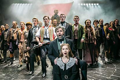 Top Price Les Misérables Tickets and a Meal for Two