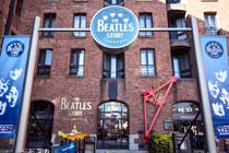 Beatles Story Exhibition and Three Course Meal for Two