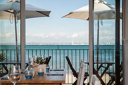 Isle of Wight Day Trip and Three Course Meal for Two