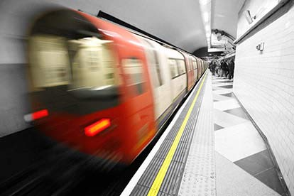 London Underground Tube Tour and Two Course Pub Meal in Mayfair for Two