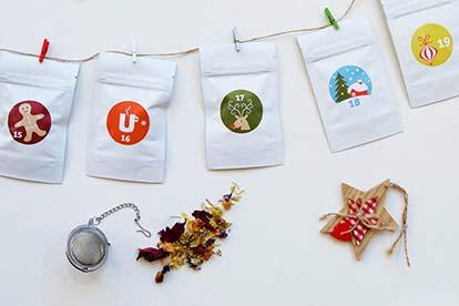 Christmas Tea Advent Calendar by BRUU