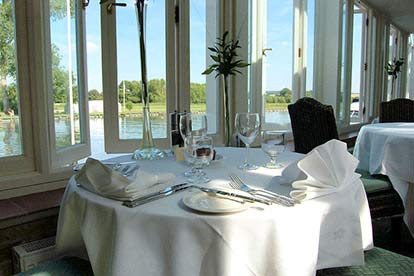Three Course Meal for Two at The Beetle & Wedge Boathouse