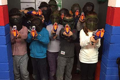 NERF Wars for Eight